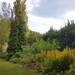 Blumenbeet des Naturhof Usedom