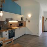 Küchenzeile der Fewo 2