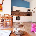 Fewo 2 Küche und Essbereich
