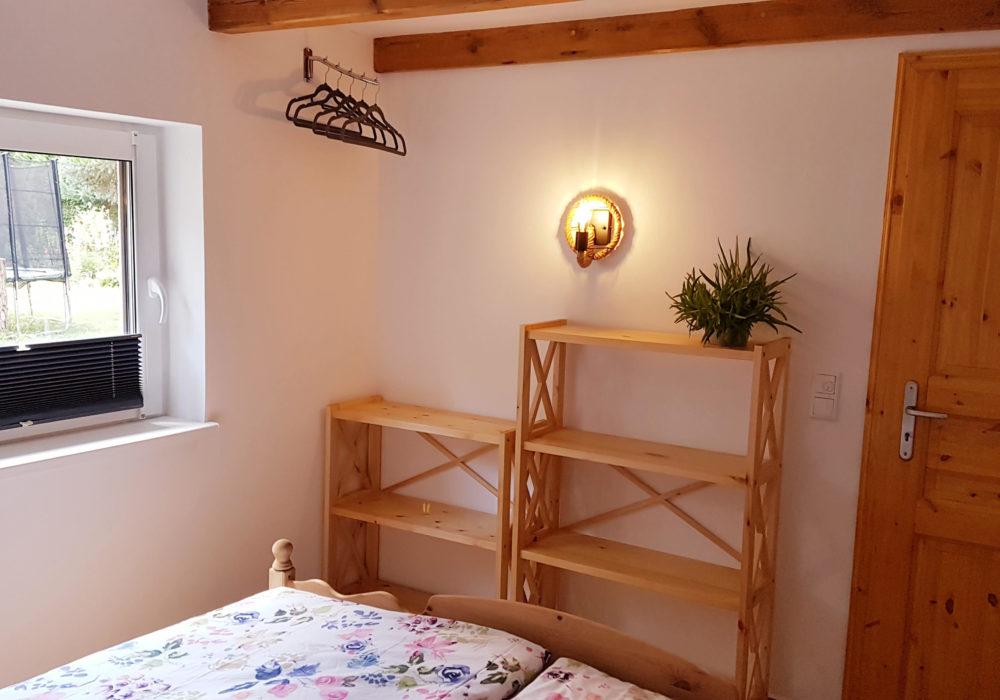 Platz für Kleidung Schlafzimmer Fewo 3 Naturhof Usedom