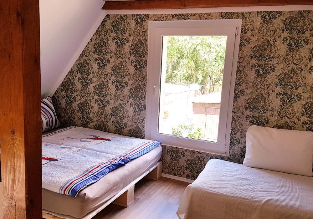 Schlafbereiche Galerie Fewo 3 Naturhof Usedom