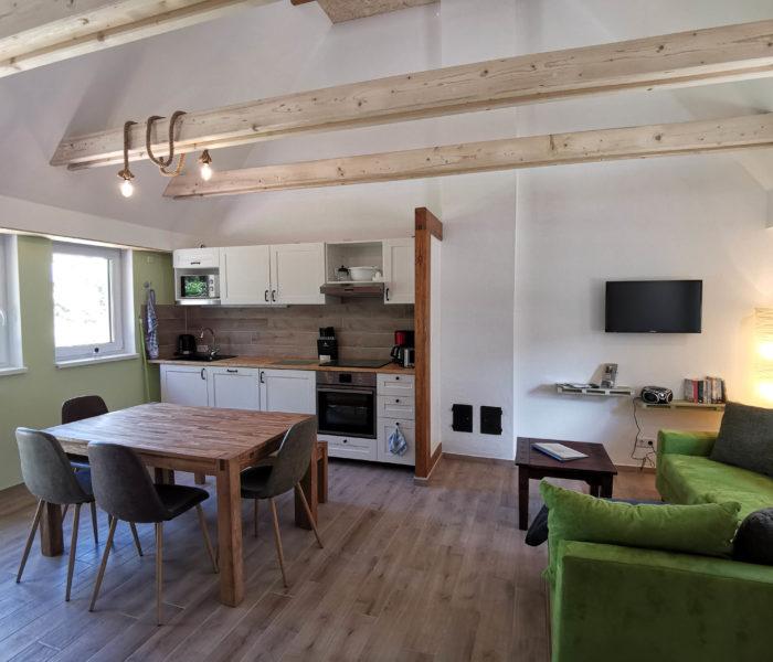 Küche-Fewo-4-Naturhof-Usedom