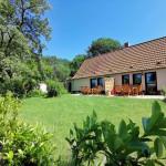 Garten/Terrasse Fewo 3 und 4 Naturhof Usedom
