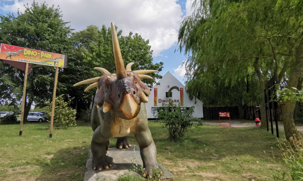 Eingang Dinopark Usedom