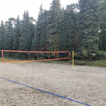 Sportbeach auf dem Naturhof Usedom