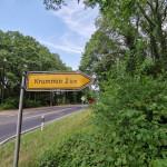 Weg nach Krummin Naturhof Usedom